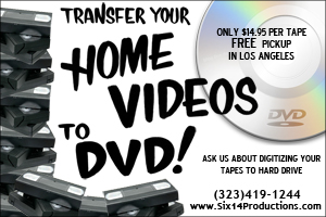 Transfer Tape to DVD