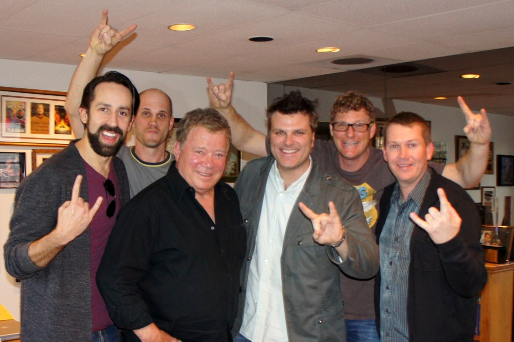 Writer Eric Leiderman, Prod. Justin Sloggatt, Icon William Shatner, Dir. Bryan Beasley, D.P. Bill Sloggatt & Peter Hermes